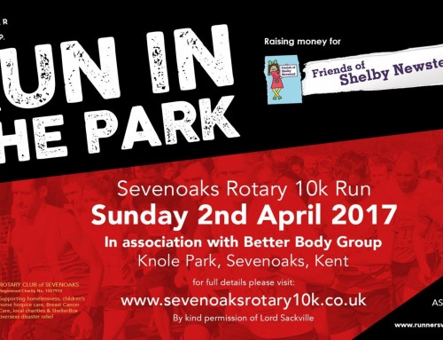 Sevenoaks 10K run!